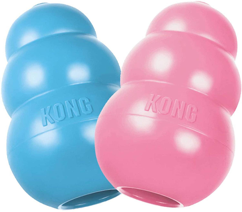 KONG - Puppy - Juguete de caucho natural para dentición